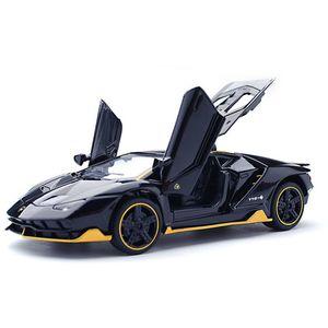 01:32 Lp770-4 Toy Vehicles Modelo Alloy Pull Back Brinquedos Genuíno Licença Gift Collection Corrida Bik óptico-acústico Car Crianças J190525