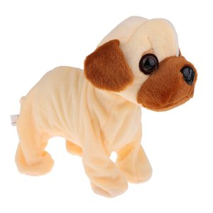 Electronic Smart Plush Dog Doll Simulation Barking Dancing Puppy Toy Educational Toys Birthday Gift for Children Kids Toddler