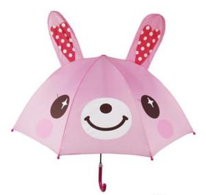 Ombrello di disegno del fumetto bello per i bambini di alta qualità 3D funzione opzionale luce di ombrello per pioggia sole 47cm * 8K