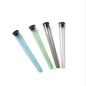 Plástico tamaño king doob tubo impermeable impermeable olor a prueba de olores cigarrillo sólido almacenamiento sellado contenedor caja de píldora 2 estilos elegir