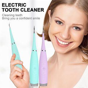 Eléctrico acústico ultrasónico dental del diente del escalador Limpiador Cálculo Remover manchas de dientes herramienta tártaro blanquear los dientes tártaro Quitar
