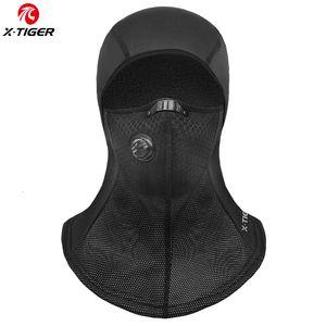X-TIGER Inverno Ciclismo Máscara Facial Cap esqui da bicicleta da bicicleta do lenço do velo térmica Hat manter quente Máscara de Formação de bicicleta Ciclismo Headwear