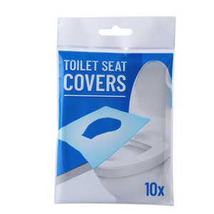 10pcs lot Dissolved water Disposable Toilet Pad Portable Toilet Seat Covers Travel Hotel Disposable Toilet paper Y1I26