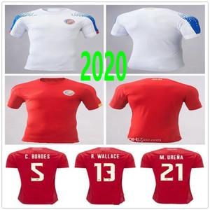 2019 2020 Costa Rica de fútbol jerseys M.URENA NAVAS H.WASTON CAMPELL BRYAN la Comadreja personalizada 19 20 21 Inicio lejos camiseta de fútbol Rojo Blanco