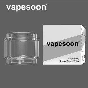 Authentic VapeSoon Bubble Replacement Convex Glass tube For Aero Mesh 5ml Joyetech ProCore Conquer Mfeng Kylin V2 Themis RTA fast shipping