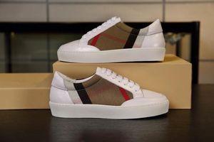 Burberry shoes Mens designer chaussures Arena sneakers Femmes high top sneaker et low top plat formateurs confortable bottes Parti Chaussures bbr200416