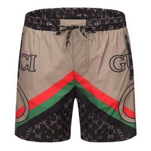 Verão Shorts 2020 homens de luxo designer Board curto de secagem rápida Swimwear Impressão placa praia Pants Men Mens Swim Shorts tamanho M-3XL