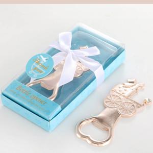 Ywbeyond Gold Metal Коляска для бутылок младенец душ возвращения подарков Мальчик Девочка Birthday Party Подарки Крещение Сувениры 50шт