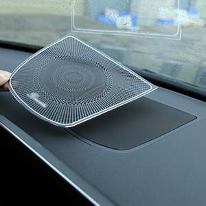 Fit alumínio para Car Trim Burmester design do painel Speaker tampa da etiqueta para o BMW X5 F15 X6 F16 Car Acessório Styling 2014-2018