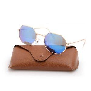 UV400 Очки защиты Солнцезащитные очки Мужские логотипы Очки 3549 Бренд Солнцезащитные очки Новый Woman Box Классический лазер с Octago Escvf