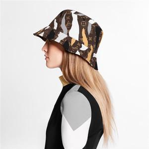 marca de diseño de alta calidad de tela mezclado letras sombrero del cubo de la manera de poder Fold Tapas de lujo Cap plegable Pescador Playa parasol por mayor