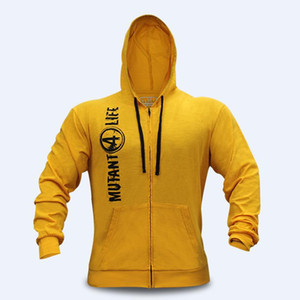 New Mutant Männer Gyms Hoodies Gyms Fitness Bodybuilding Sweatshirt Pullover Sport Male Workout Kapuzenjacke Kleidung