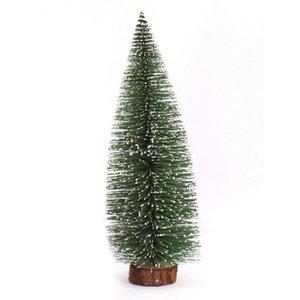Mini-Weihnachtsbaum Eine kleine Kiefer Platziert in der Desktop-Weihnachtsdekoration für Haus Weihnachten