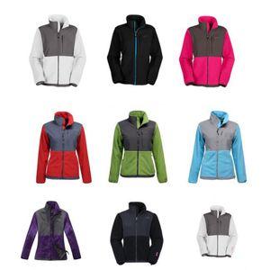 Womens Fleece Nuovo Giacche invernali cappotti antivento Warm Soft Shell Sportswear Donna Uomo Bambini Cappotti S-XXL nero