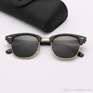 Designer Sunglasses Fashion Polarized Sun Glasses Woman Brand Sunglasses Mens Eyeware Des lunettes De Soleil with Top Quality Leather Case