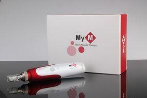 5 Speeds Auto Electric Mirco Needle MYM Derma Pen Dermapen Auto Micro Needle Therapy For Skin Rejuvenation With 52 PCS Needle Cartridges