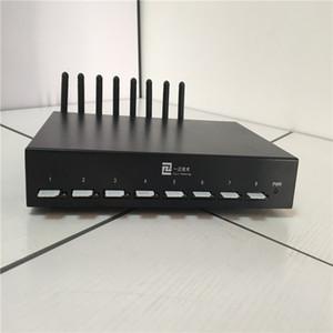 Hotipip-Produkt mit 2019 8 Ports Goip Gateway mit IMEI-Lösung zur Änderungsblockierung 8 SIM-Steckplätze für schnelle Lieferung