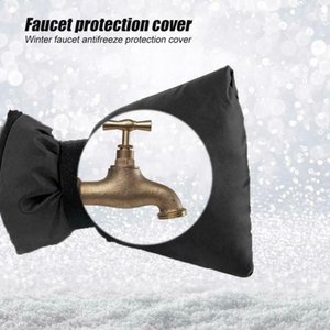 1шт 18 * 15см Anti-замерзает Защитная крышка для смесителя Зимний Открытый водопроводный кран Protector