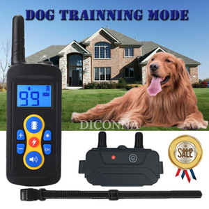 Pet Dog Shock COLLIERS rechargeable Télécommande IP67 étanche
