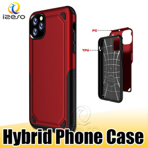 Für iPhone 11 XS MAX XR X 8 7 6 Plus Hybrid Rüstung Handy Shell Cover Stoß- Rugged Schutz Telefon Zurück Cases izeso