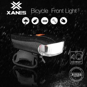 Outerdo Xanes 5 Modu Usb Şarj Bisiklet Alman Standart Akıllı Sensör Uyarı Işık Sgodde Su Geçirmez Bisiklet Ön Far
