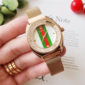 Schweizer Diamant-Uhr Damen Luxus Frauen passt Spitzenmarkenarmband Armbanduhr Modedesigner reloj Mujer Montres femmes gießen