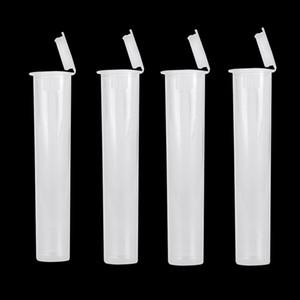 Новый дизайн Ecigs PP Tube Пластиковые контейнеры для детей Устойчив Упаковка Clear Tube Упаковка для 510 Испаритель подходят Vape Pen Cartrdges