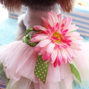 2018 Summer Dog Clothes for Dog Dress Tutu Pet Puppy Clothes Cat Skirt Wedding Dresses Pet Apparel Ropa de Cachorro