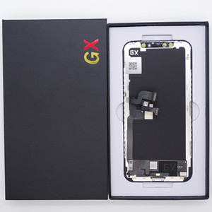 Schermo LCD per iPhone x GX Display Hard OLED Touch Screen Digitizer Completo assembly Sostituzione assembly