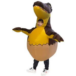 Child cosplay outsuit inflatable dinosaure egg balloon creative walking egg costumes only for Kids funny party