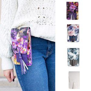 Mini Bohemia Style Elegant Shoulder Crossbody Bag Women Designer Flower Messenger Bags Lady Portable Phone Money Handbag Clips
