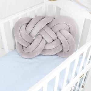 Bebek Odası Yastık Knot Beşik Pad Yatak Yastık Bebek Nursery hakkında Rahat Yumuşak Yastıklar