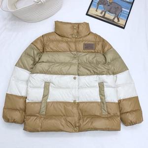 19ss Luxury Женщин вниз Пальто осень зима Марк куртка с длинным рукавом Теплого Ladies Parka пальто Мужчина Толстой Ветровка SleevesDetachable B102563K