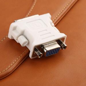 DVI a VGA convertitore DVI 24 + 5/24 + 1 pin maschio a femmina del VGA 1080P Video Converter per HDTV Computer proiettore portatile del PC