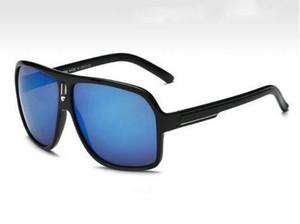 Diseñador de la marca de alta calidad Moda Mujeres Gafas de sol Protección UV400 Hombres Deporte al aire libre Vintage Gafas de sol Gafas retro con caja CA-18