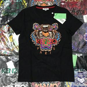 2020 Summer Designer T-shirts pour hommes Hauts yeux Lettres Broderie T-shirt pour hommes Vêtements de marque à manches courtes T-shirt Hauts pour femmes S-2XL