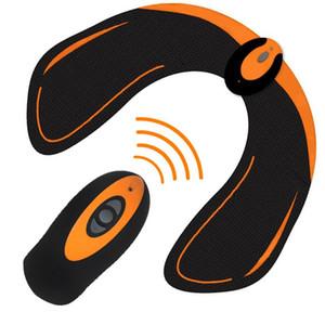 EMS remoto sem fio Hips instrutor USB Elétrica estimulador muscular aptidão Tones Nádegas Bundas Toner elevação Slimming Massager