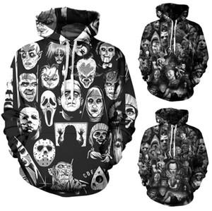 Mens Designer Pullover für Männer Sweatshirt Liebhaber 3D Schädel Hoodies Jacke mit Kapuze Ogreish Pullover Tees Kleidung