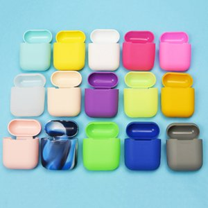 Silicone Case For Apple Airpods 1 Soft Ultra Thin Protector Cover Sleeve Pouch for Air pods Earphone Cases