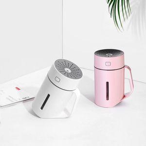 2020 Home Appliances USB Climatisation Forme Coupe Portable Ultrasonic Humidifier Diffuseur d'arôme air frais