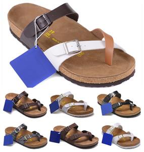 NUEVO Arizona Mayarí 2019 verano de la playa del corcho del deslizador de las chancletas de mujeres de las sandalias hombres de color de los zapatos de Diapositivas plano ocasional del envío de la EUR 34-46