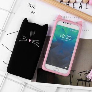 Phone Case For Meizu M6 M5s M5 Mini M6s M3s M5c Cute Cat Ear Cartoon Cases For Meizu M6 M5 M3 Note Protective Cover