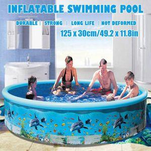 سميكة نفخ بركة سباحة ضربة الرضع القبول Pool للأسرة أطفال الفناء طوي سباحة المياه العائمة