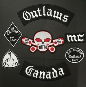 Nuovi Fuorilegge patch ricamato il ferro sul Biker Nomads canada Le patch per il rivestimento del motociclo Vest Patch Vecchio Fuorilegge Patch badge adesivo