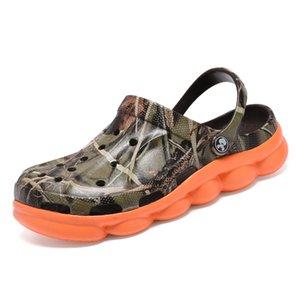 POLALI 2020 Summer Men's Garden Clogs Slippers EVA Casual Fashion Beach Sandals For Men, Mens Lightly Slipper Mule Clog