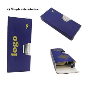 Logotipo personalizado Vape Cartuchos de aceite Caja de embalaje A prueba de niños Nuevos carros Paquete de papel Cosmético E Cigarrillo Blister Embalaje Holograma Pegatinas Pegatinas