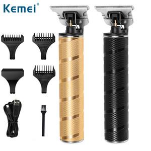 Pro Li T-Структуризатор Парикмахерская Электрический Профессиональные Аккумуляторный триммер волос мужчин 0mm напролом Машинка для стрижки волос Машинки для стрижки Sqtrimmer.