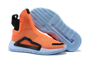 2019 N3XT L3V3L True Green Clear Pink Wild Zwischensohle Gum 5 Sohlen Pro Vision für Männer Basketball Stiefel Sport Sneaker City Sock Schuhe