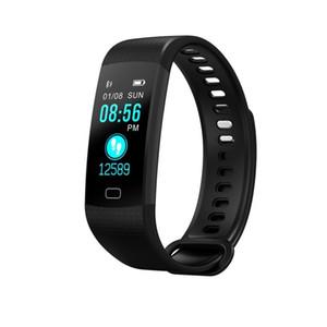 Dropshipping Y5 Dx18 Intelligente Band frequenza cardiaca Tracker Braccialetto attività Fitness Tracker pedometro intelligente orologio Y19051403