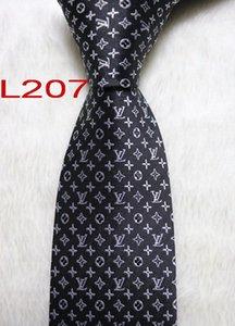 L207 # 100% ocasional del lazo corbata clásico de seda jacquard tejida hecha a mano de los hombres y de negocios ata